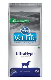 Vet Life Dog UltraHypo, диета для собак при аллергиях и атопиях / Farmina (Италия)