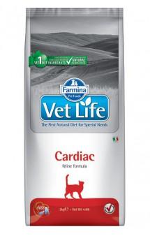 Vet Life Cat Cardiac, диета для кошек при хронической сердечной недостаточности / Farmina (Италия)