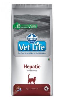 Vet Life Cat Hepatic, диета для кошек при печеночной недостаточности / Farmina (Италия)