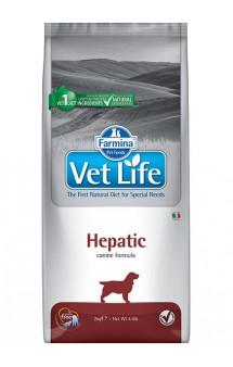 Vet Life Dog Hepatic, диета для собак при печеночной недостаточности / Farmina (Италия)