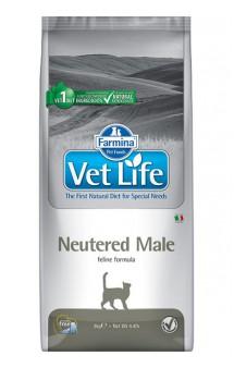 Vet Life Cat Neutered Male, корм для кастрированных котов / Farmina (Италия)