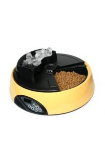 Автокормушка для собак и кошек, 4 секции, ж/к дисплей, отделение для льда / Feed-Ex