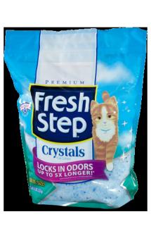 FRESH STEP Crystals силикагелевый наполнитель / Fresh Step (США)