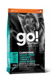 GO! FIT + FREE, 4 вида мяса, корм для собак / Petcurean (Канада)