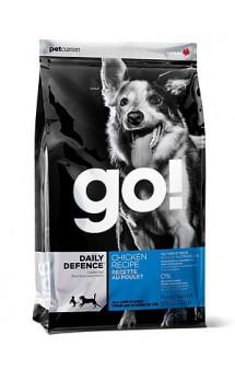 GO! Daily Defence Chicken Dog Recipe, корм для собак с цельной курицей / Petcurean (Канада)