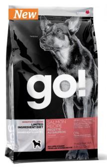 GO! SENSITIVITY + SHINE™ LIMITED INGREDIENT Salmon Recipe, корм для собак, с Лососем / Petcurean (Канада)