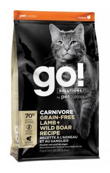 GO! CARNIVORE GF Lamb + Wild Boar, корм для котят и кошек Ягненок и Дикий Кабан / Petcurean (Канада)