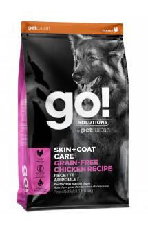 GO! SKIN + COAT, корм для собак, с цельной Курицей / Petcurean (Канада)
