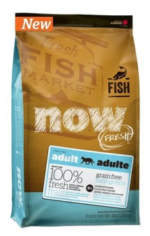 NOW FRESH Grain Free Fish Adult,беззерновой корм для кошек с Рыбой / Petcurean (Канада)
