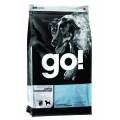 GO! Sensitivity + Shine LID Pollock Dog Recipe, GF, Potato Free, корм для собак с Минтаем / Petcurean (Канада)
