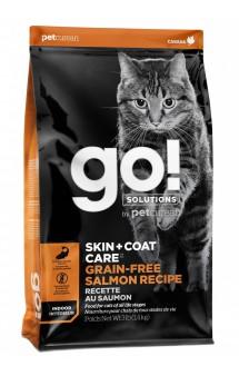 GO! SKIN + COAT, корм для котят и кошек, Лосось / Petcurean (Канада)