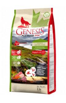 Green Highland Puppy корм для щенков / Genesis (Канада)