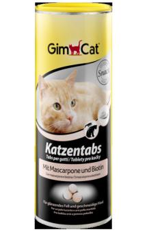 GimСat Katzentabs, таблетки с маскарпоне и биотином / Gimborn (Германия)