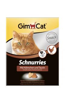 GimСat Schnurries, сердечки с курицей и таурином / Gimborn (Германия)