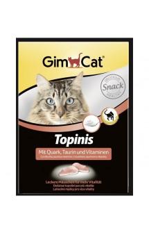 GimСat Topinis, мышки с творогом, таурином и витаминами / Gimborn (Германия)