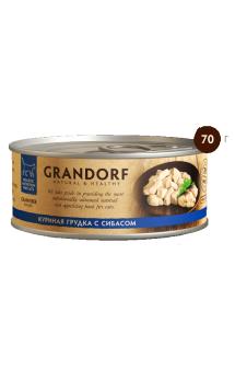 GRANDORF, Куриная грудка с Сибасом, в собственном соку / Asian Alliance International Co., Ltd. (Тайланд)