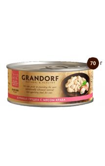 GRANDORF Куриная грудка с мясом Краба, в собственном соку / Asian Alliance International Co., Ltd. (Тайланд)