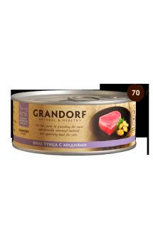 GRANDORF филе Тунца с Мидиями в собственном соку / Asian Alliance International Co., Ltd. (Тайланд)