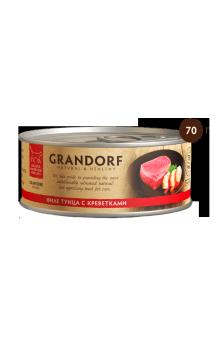 GRANDORF, филе Тунца с Креветками в собственном соку / Asian Alliance International Co., Ltd. (Тайланд)