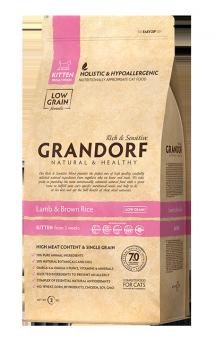GRANDORF Lamb and Rice Kitten, корм для котят / United Petfood Producers NV (Бельгия)