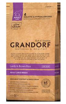 GRANDORF Lamb and Rice Adult Maxi,корм для крупных собак, с Ягненком / United Petfood Producers NV (Бельгия)