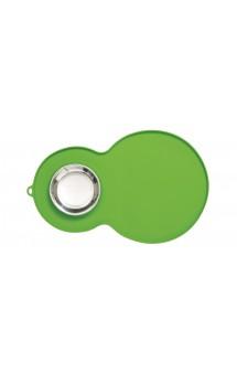 Catit Flower Placemat, peanut Силиконовый коврик с миской для фонтанчиков и мисок,зеленый / Hagen (Германия)