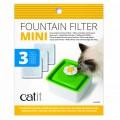 Сменный фильтр (3 шт) для питьевого фонтанчика Catit Flower Mini / Hagen (Германия)