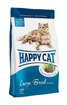 Supreme Adult Large Breed, корм для крупных кошек / Happy Cat (Германия)