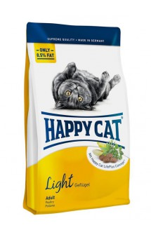 Supreme Adult Light, корм для взрослых кошек низкокалорийный / Happy Cat (Германия)
