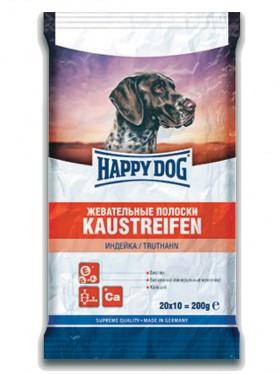 Жевательные Полоски для собак, с Индейкой / Happy Dog (Германия)