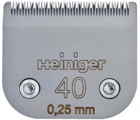 Сменное лезвие Heiniger для кошек 40/0.25 мм / Heiniger (Швейцария)