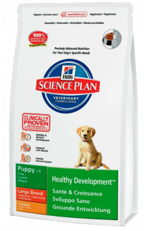 Puppy Healthy Development Large Breed Chicken / Hill's (США-Нидерланды)