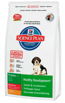 Puppy Healthy Development Medium Chicken / Hill's (США-Нидерланды)