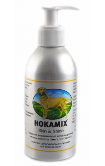 Hokamix Skin & Shine,витаминный комплекс Хокамикс Скин Шайн,для кожи и шерсти / Hokamix (Германия)