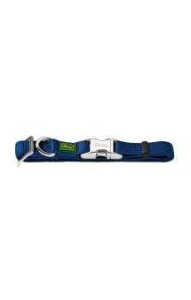Alu-Strong, ошейник для собак, нейлон, с металлической застежкой, темно-синий / Hunter (Германия)