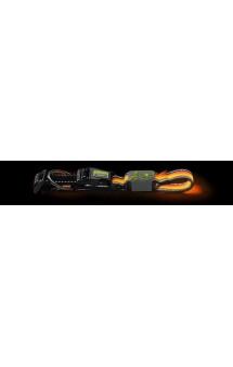 LED Manoa Glow, светящийся ошейник, оранжевый / Hunter (Германия)