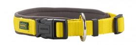 Neopren Vario Plus, нейлон, ошейник для собак, желтый / Hunter (Германия)