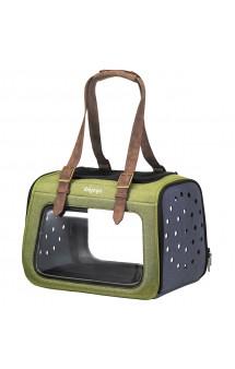 Portico Mixed-fabric, сумка-переноска для собак и кошек / Ibiyaya (Китай)