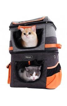 Two-tier Pet Backpack Двухъярусный рюкзак-переноска / Ibiyaya (Китай)