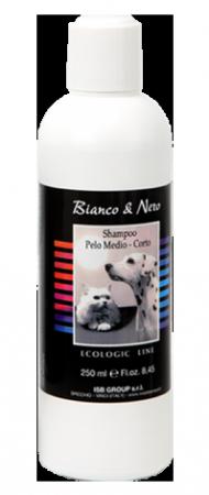 Black&White Chlorophyll Shampoo – Medium/Short hair Шампунь для средней и короткой шерсти / Iv San Bernard (Италия)