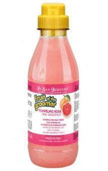 Fruit of the Grommer Pink Grapefruit, шампунь Розовый грейпфрут с витаминами, для шерсти средней длины / Iv San Bernard (Италия)