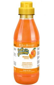 FRUIT of the Grommer, Orange Shampoo Шампунь Апельсин для слабой,выпадающей шерсти,с силиконом / Iv San Bernard (Италия)