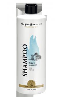 Traditional Line Talc Shampoo Puppies, Шампунь-Тальк для щенков и котят / Iv San Bernard (Италия)