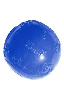 Мяч резиновый с пищалкой - Squeezz Ball / KONG (США)