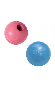 Puppy Ball Игрушка  для щенков Мячик под лакомства / KONG (США)