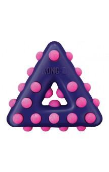Dots Треугольник, игрушка для собак / KONG (США)