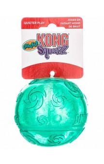 Хрустящая игрушка для собак Ball Squeezz Crackle / KONG (США)