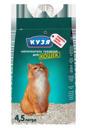 Наполнитель для взрослых кошек / Кузя (Россия)
