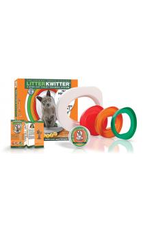 Cистема для приучения кошки к туалету / Litter Kwitter (Великобритания)
