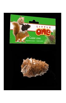 Little One, Кедровая шишка, игрушка - лакомство для грызунов / Mealberry (Германия,Россия)